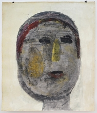 O.T.1996 Tusche, Gouache, Papier 147,5 x 125 cm