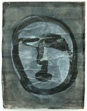 O.T. 1995 Tusche, Gouache, Papier 148,5 x 114 cm